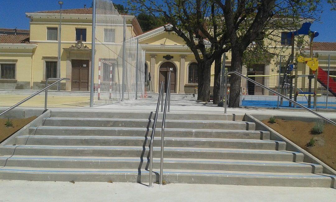 Mejora y rehabilitación de la zona de recreo del CEIP J.J.Ràfols